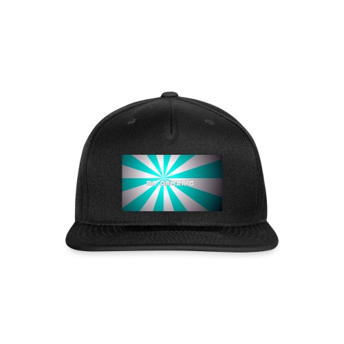 first design - Snap-back Baseball Cap