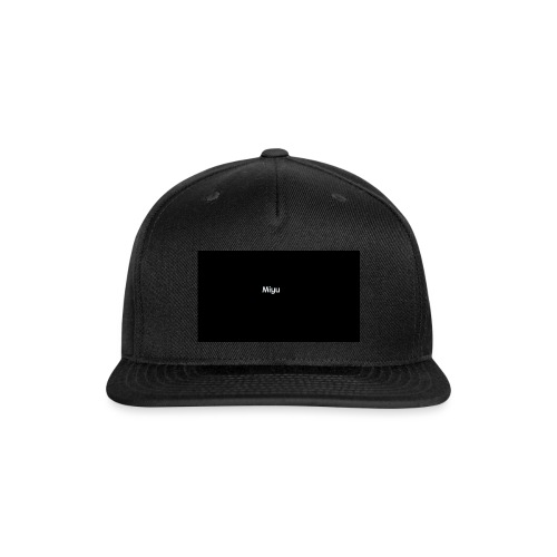 Miyu - Snap-back Baseball Cap