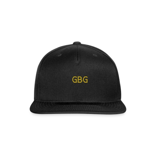 GBG Gold0000 - Snap-back Baseball Cap