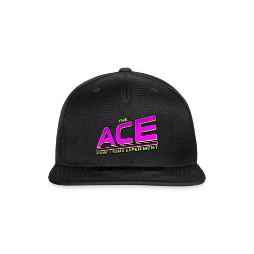 The ACE: Atomic Cinema Experiment - Snapback Baseball Cap
