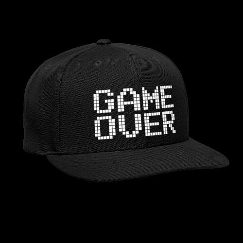 GAME OVER - Snap-back Baseball Cap