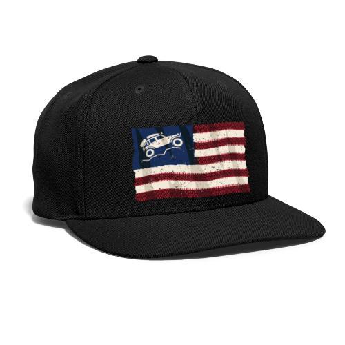 American Off Road 4x4 Overland Flag - Snapback Baseball Cap