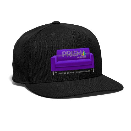 Purple Couch - Snap-back Baseball Cap