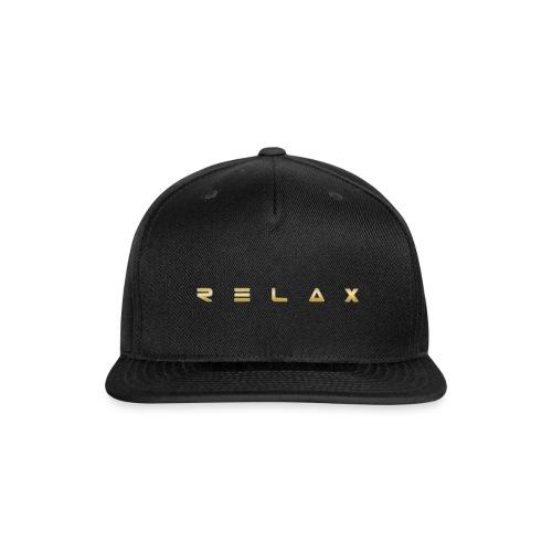 Relax gold - Snap-back Baseball Cap