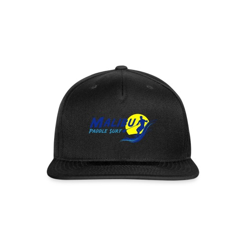 Malibu Paddle Surf T-shirts Hats Hoodies - Snap-back Baseball Cap