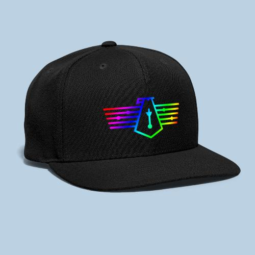 Westport Bird Rainbow on transparent - Snapback Baseball Cap