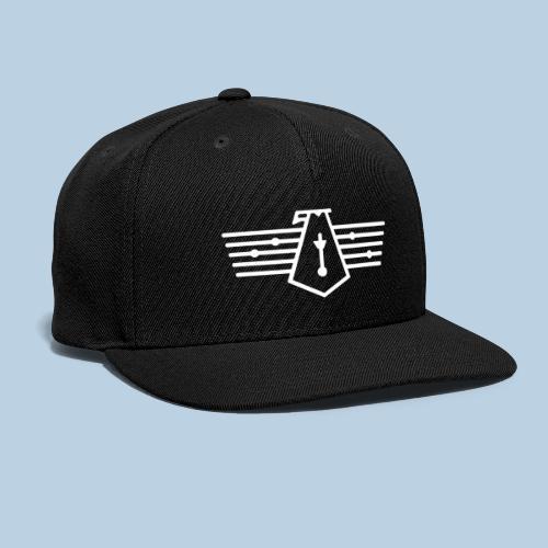 Westport Bird White on transparent - Snapback Baseball Cap