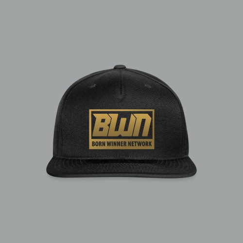 BWN (Gold) - Snap-back Baseball Cap