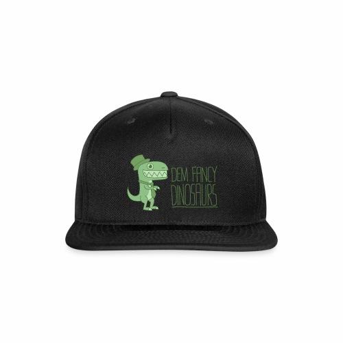 Dem Fancy Logo - Snap-back Baseball Cap