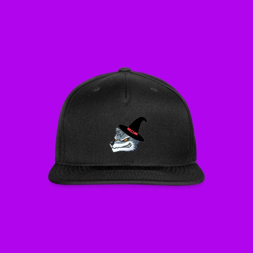 BEAST WOLF HALLOWEEN LOGO!! - Snap-back Baseball Cap