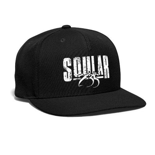 Soular235 White Logo - Snapback Baseball Cap