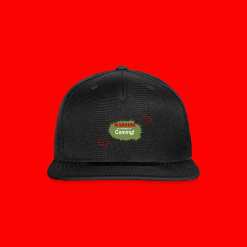 Christmas_is_Coming - Snap-back Baseball Cap