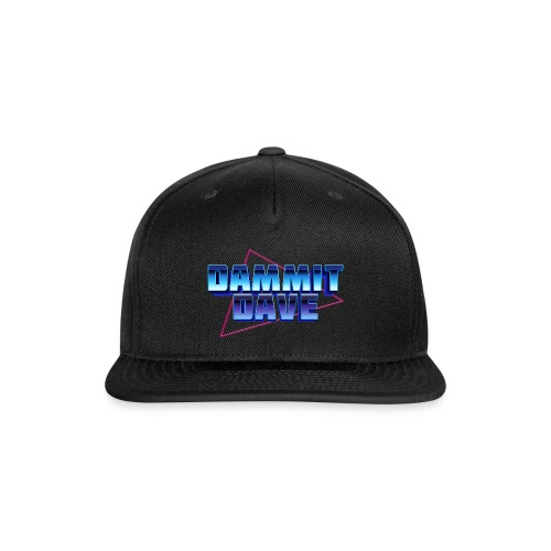 Retro Logo - Snap-back Baseball Cap