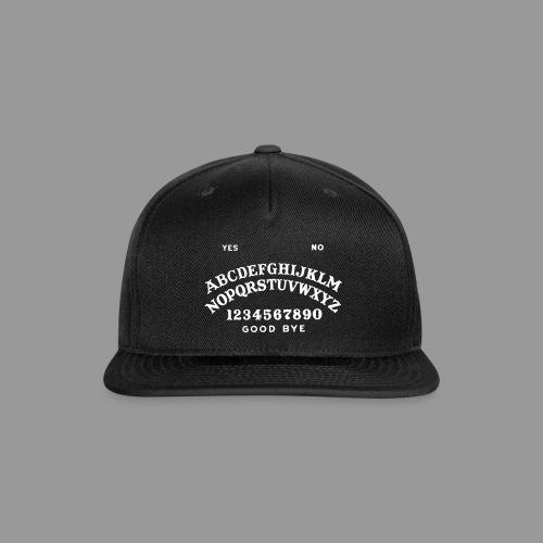 Talking Board - Snap-back Baseball Cap