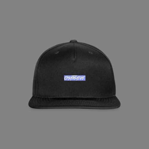 chat gang logo - Snap-back Baseball Cap