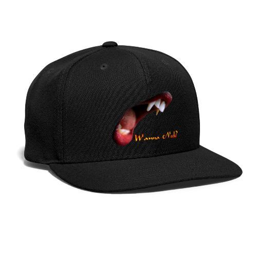 Wanna Neck - Snap-back Baseball Cap
