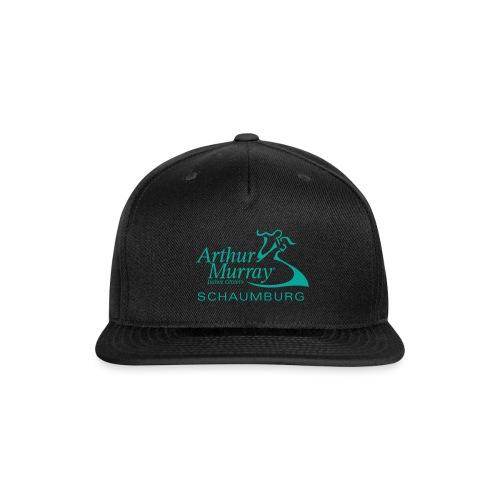 Arthur Murray Schaumburg Turquoise Logo - Snapback Baseball Cap