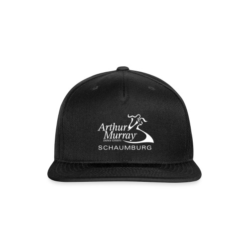 Arthur Murray Schaumburg White Logo - Snapback Baseball Cap