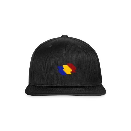 3D Single Rail Track Texas - Snap-back Baseball Cap