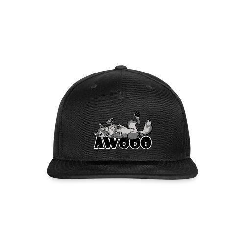 Lazy Awooo Wolf - Snapback Baseball Cap