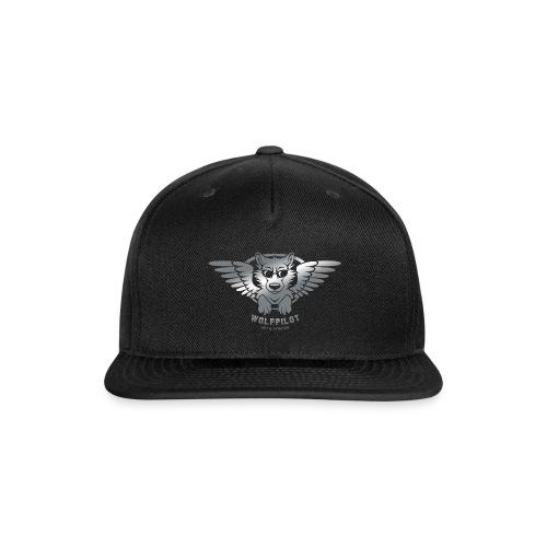 Wolfpilot Logo Silver - Snapback Baseball Cap