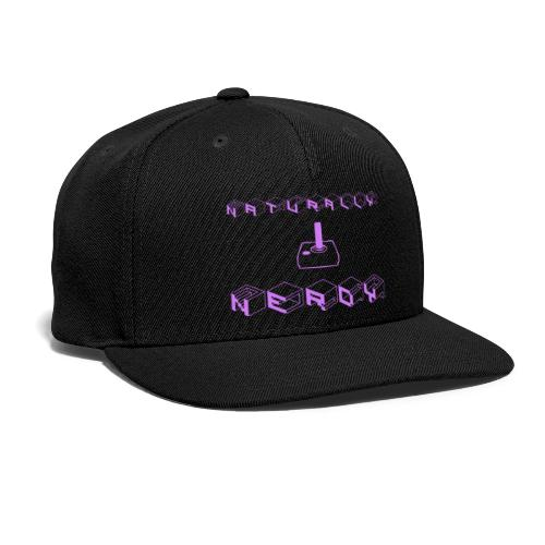Naturally Nerdy - Snapback Baseball Cap