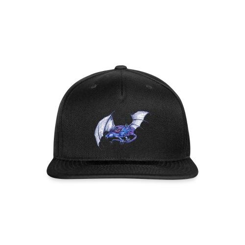 Long tail blue dragon - Snap-back Baseball Cap