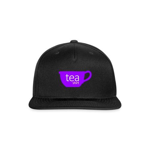 Tea Shirt Simple But Purple - Snap-back Baseball Cap