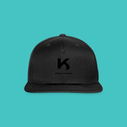 karma_gaming_logo - Snap-back Baseball Cap