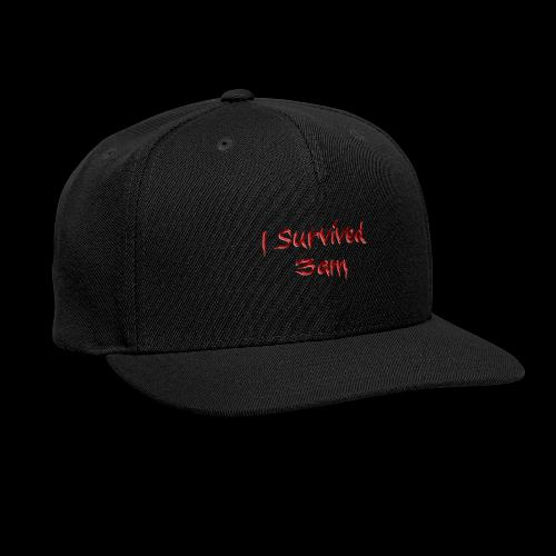 I survived 3am - Snap-back Baseball Cap