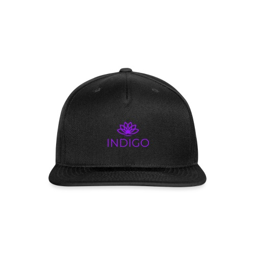 Purple Simple - Snap-back Baseball Cap