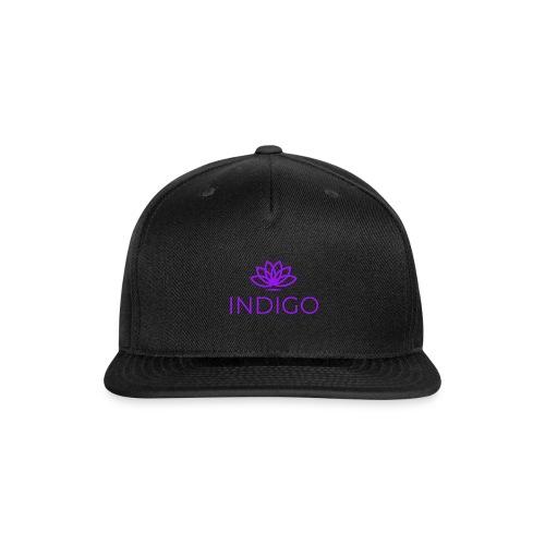 Purple Simple - Snap-back Baseball Cap