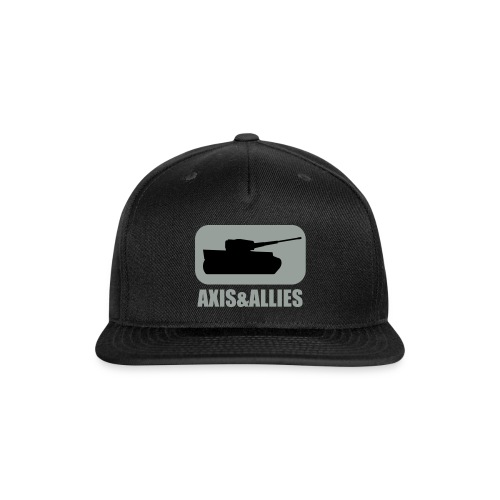 Axis & Allies Tank Logo - Dark - Snapback Baseball Cap