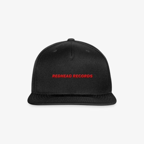 Redhead Records - Snap-back Baseball Cap