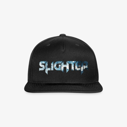 Slighter Blue Ice Logo - Snapback Baseball Cap