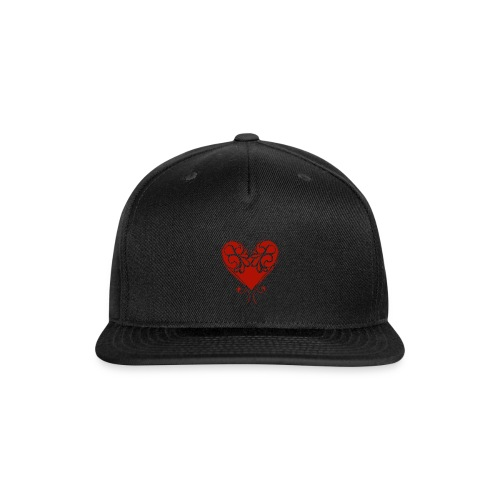 A Splash of Love Heart Design Baby One Piece - Snap-back Baseball Cap