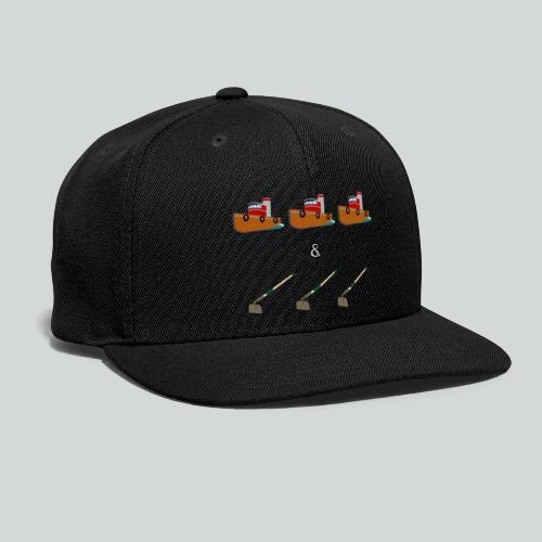 Boats and Hoes - Snapback Baseball Cap