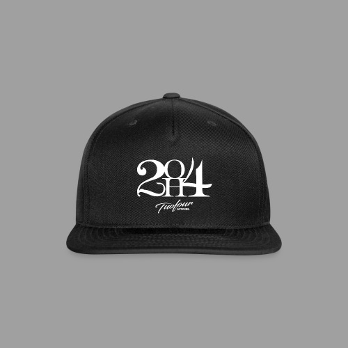 2OH4 - Snap-back Baseball Cap