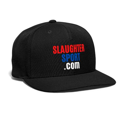 SLAUGHTERSPORT.COM - Snap-back Baseball Cap