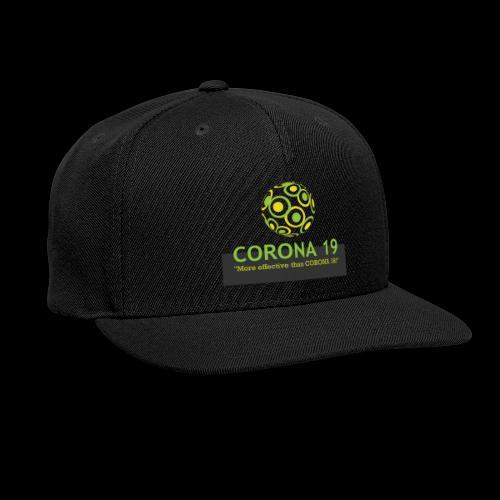 CORONA VIRUS 19 - Snapback Baseball Cap