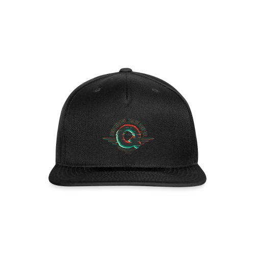 Q - Digital Soldier - Snap-back Baseball Cap