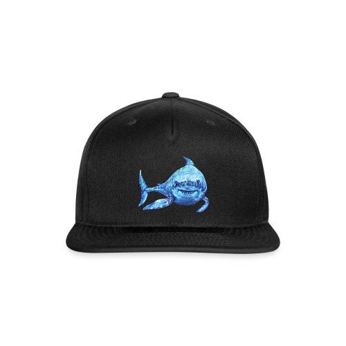 sharp shark - Snapback Baseball Cap