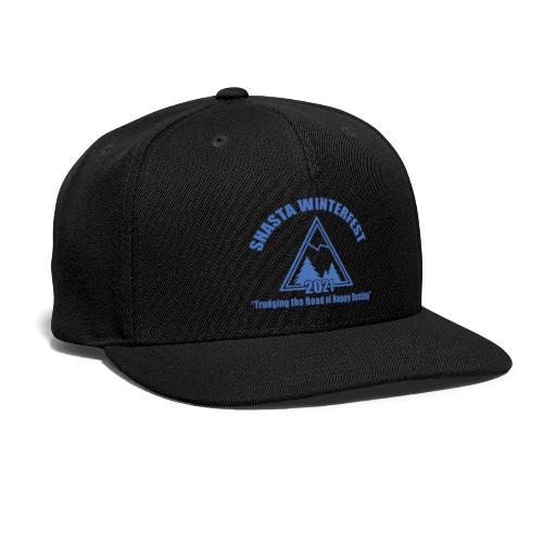 front logo - Snapback Baseball Cap