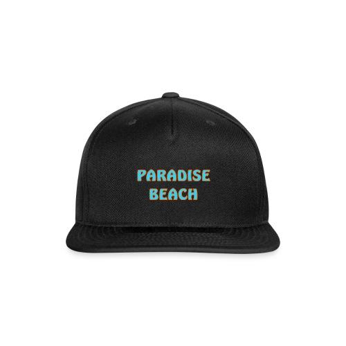 Paradise beach - Snap-back Baseball Cap