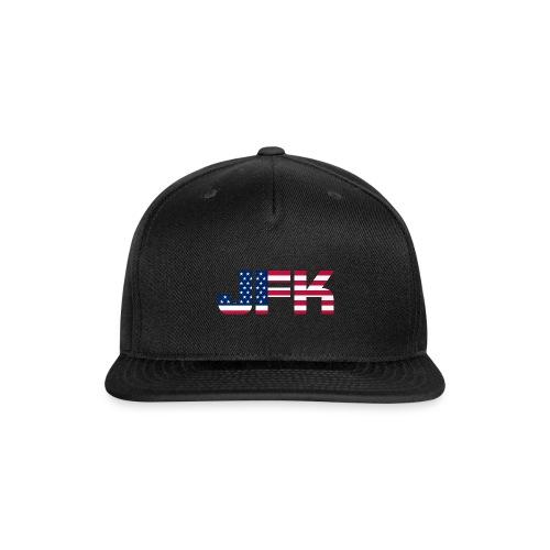 JFK - Snap-back Baseball Cap