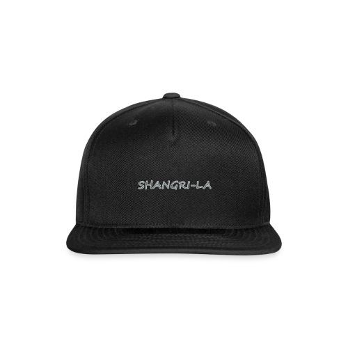 Shangri La silver - Snap-back Baseball Cap