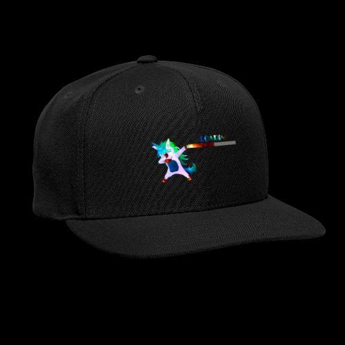 Dabbing unicorn still Loading - Snap-back Baseball Cap