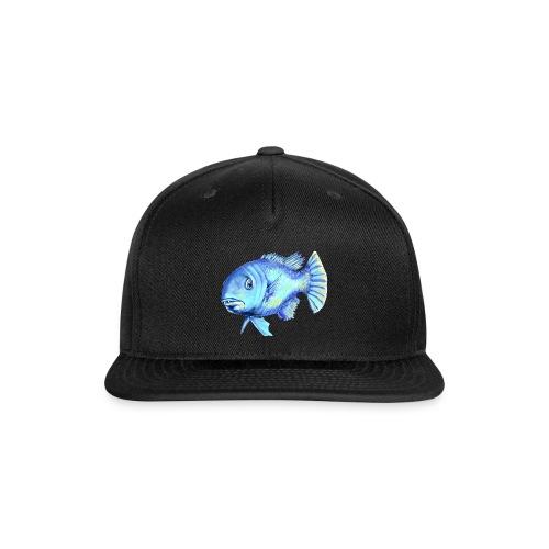 blue fish - Snap-back Baseball Cap