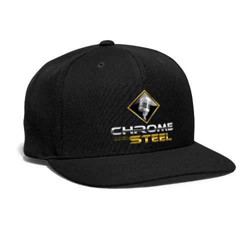 Chrome and Steel Radio Logo - Snap-back Baseball Cap