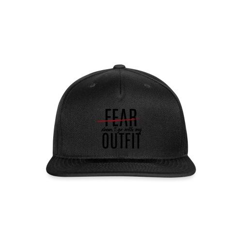 Exclusive Blackout Shirt-R (Black Friday Special) - Snap-back Baseball Cap